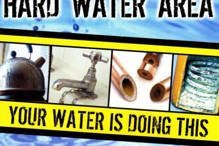 Warning Hard Water Area